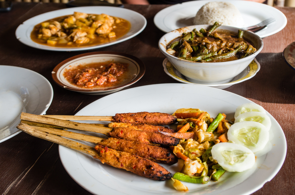 Warung Chef Bagus serves delicious Indonesian food