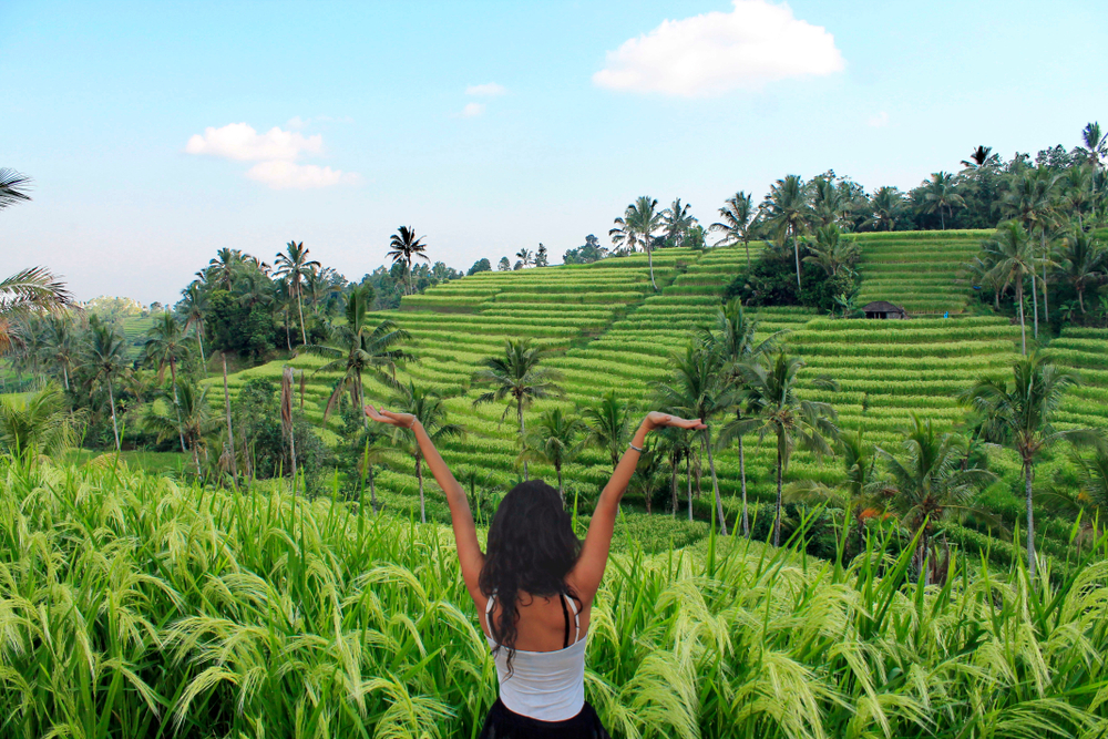 solo travellers in Bali
