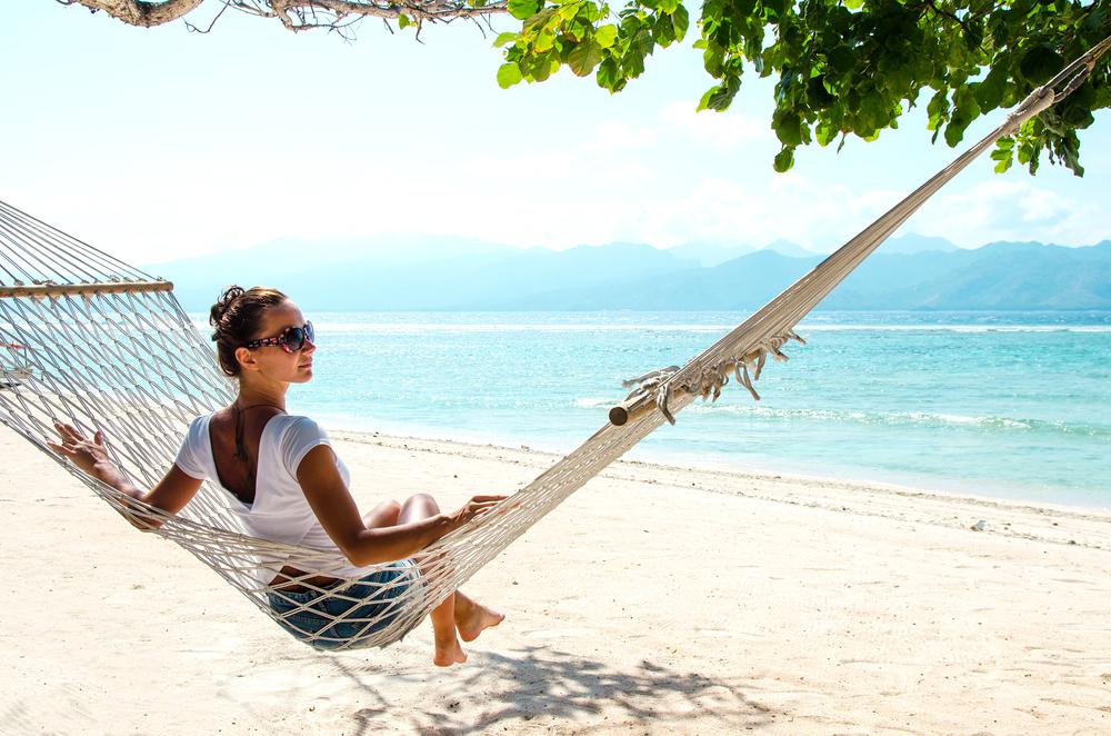 Bali is relaxing