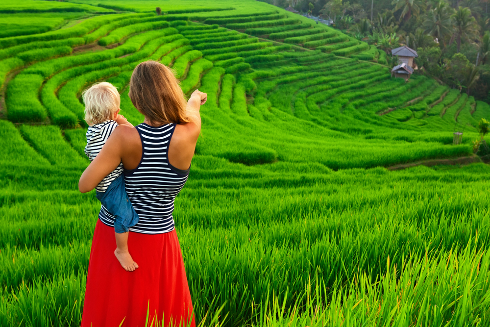Ubud is a favourite location among families in Bali