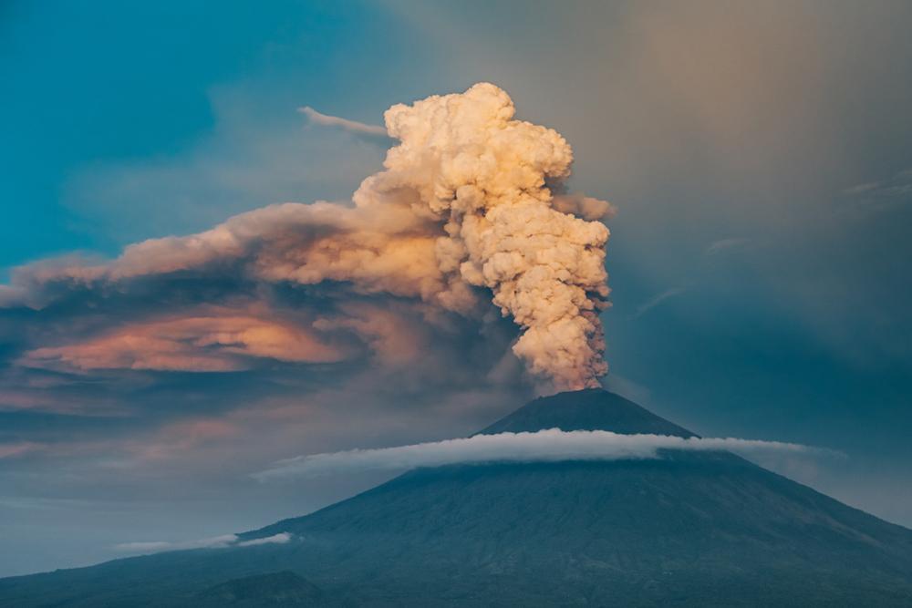 Eruption of Mount Agung