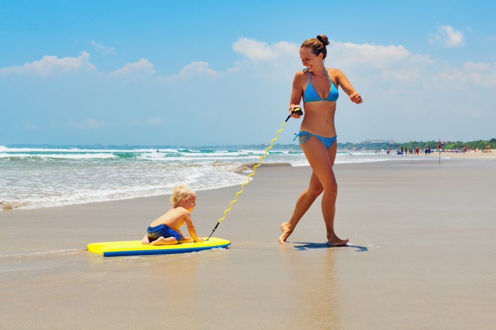 Kuta is a top destination for families with children
