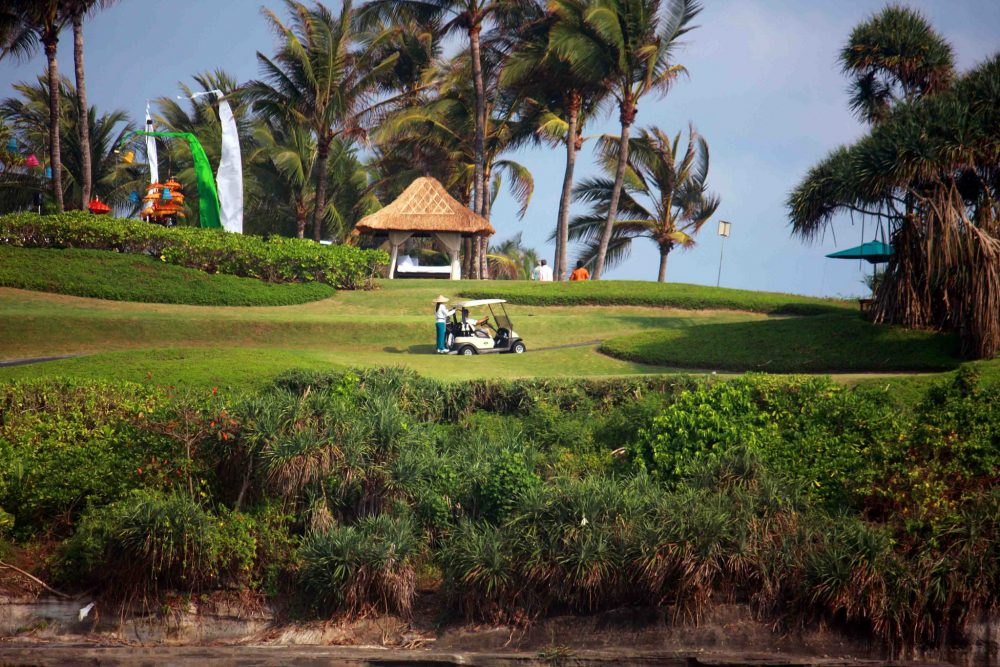 Golf enthusiasts will love the beautiful courses in Nusa Dua. https://www.flickr.com/photos/thirnbeck/8156377732/