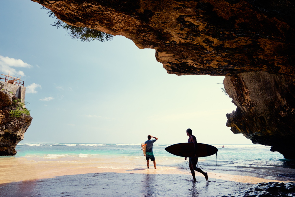 Uluwatu is home to Bali's most famous surf spots.