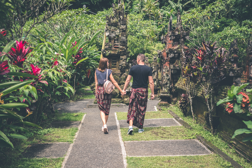 Honeymoon in Bali can become an unforgettable experience