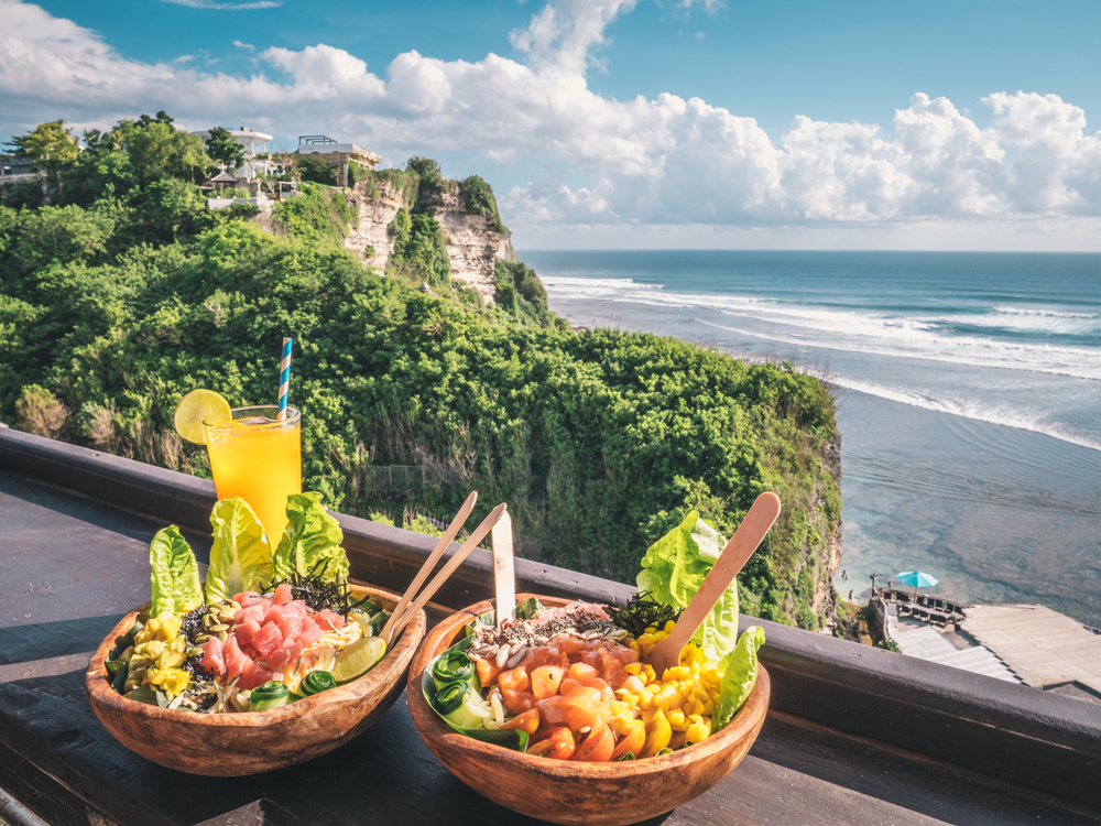 Food will become a special part of your Bali Honeymoon experience