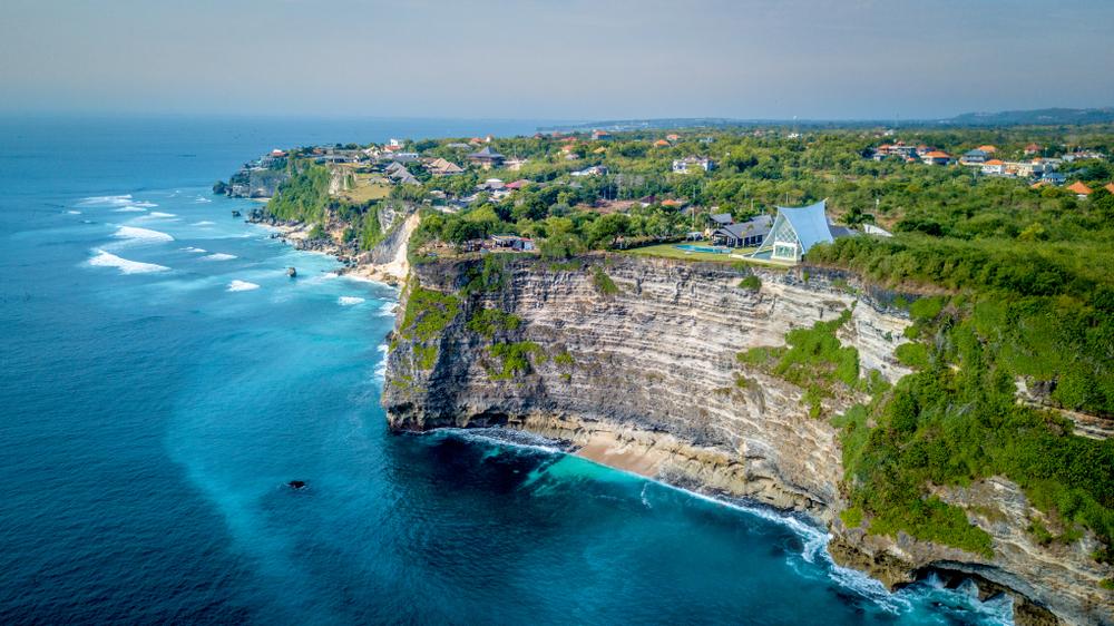Uluwatu has some of the most dramatic coastlines in Bali