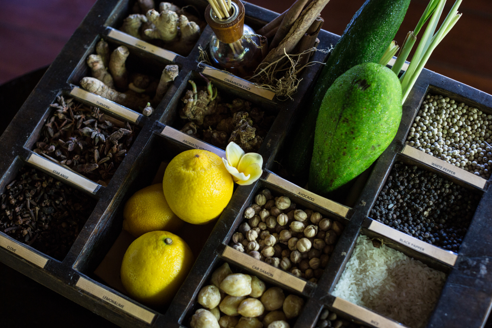 The Bali Refresh Spa uses only fresh, natural ingredients.