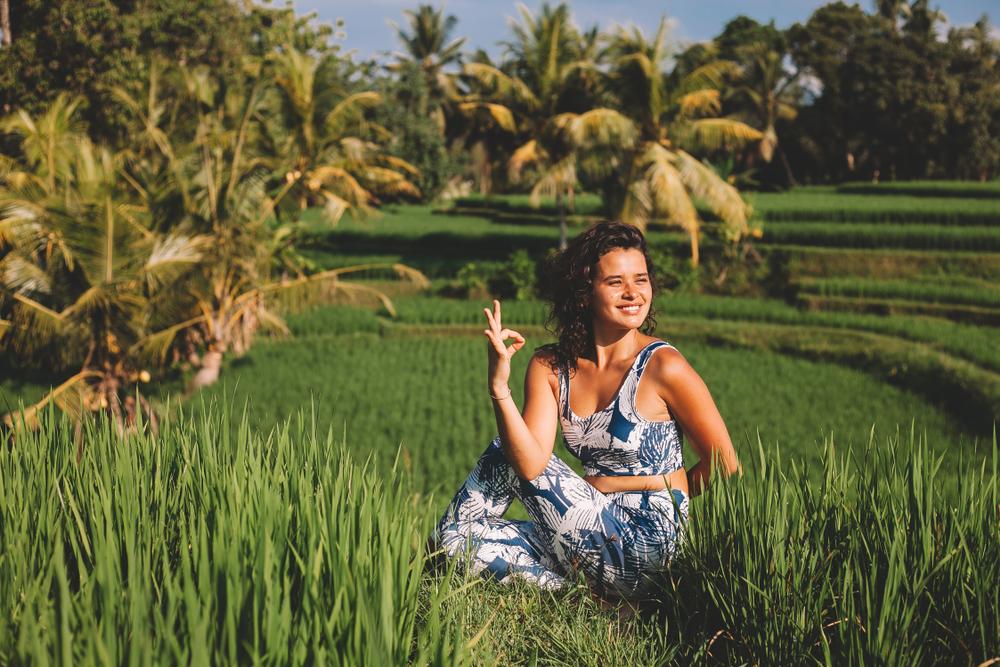 Ubud's scenery is amazing for yoga and meditations