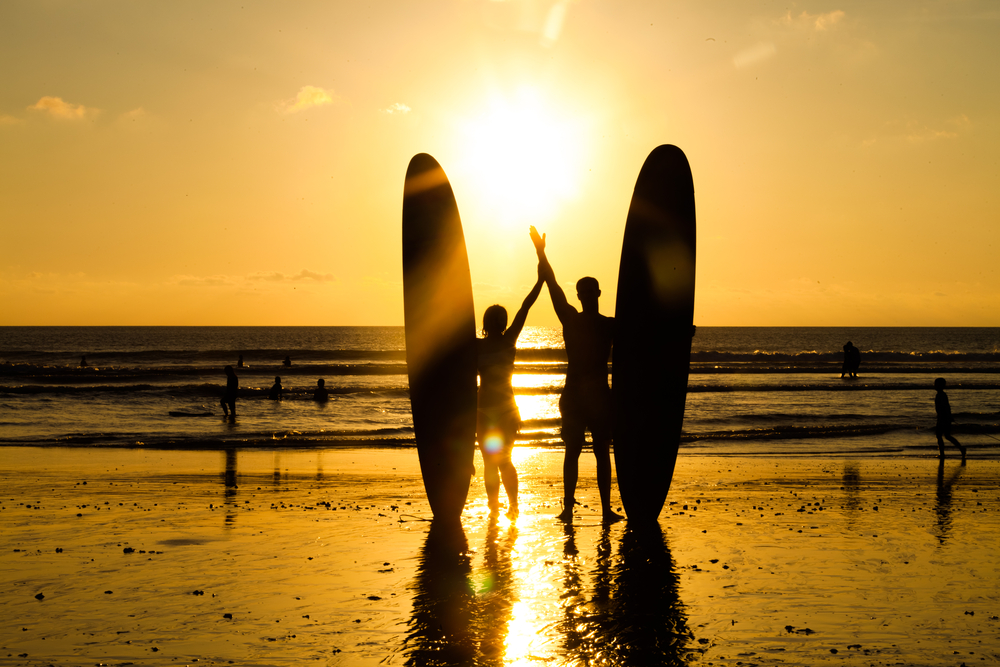 Bali is one of the world's most popular surfing destinations