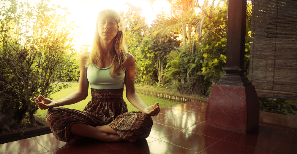 Ubud is the main yoga hub in Bali.
