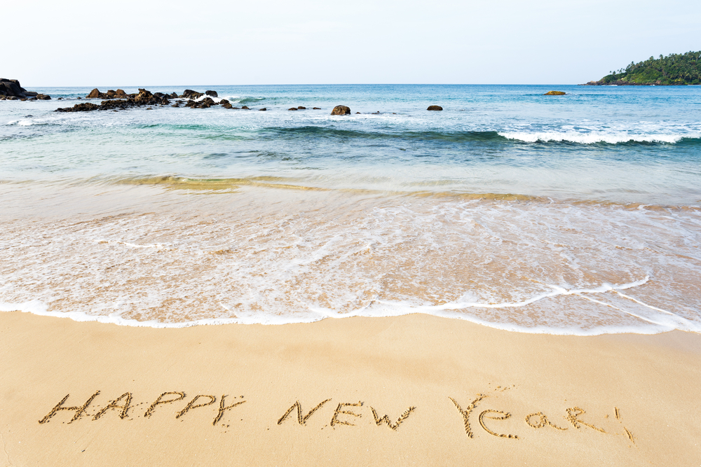 Welcome in the new year in Bali!