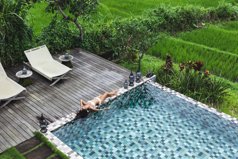Relax in your own private villa in Ubud.