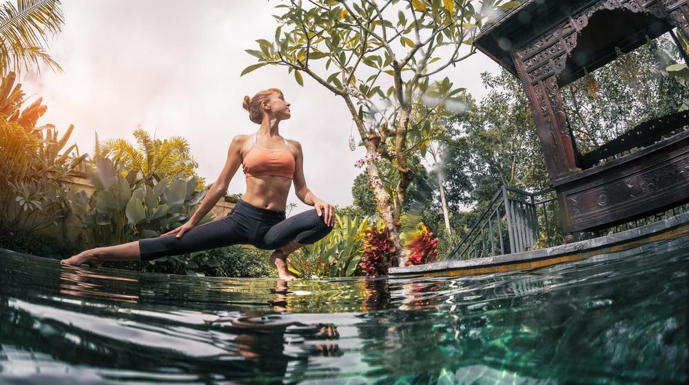 Bali and yoga always go together