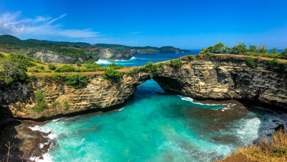 Broken Beach is a must-see in Nusa Penida