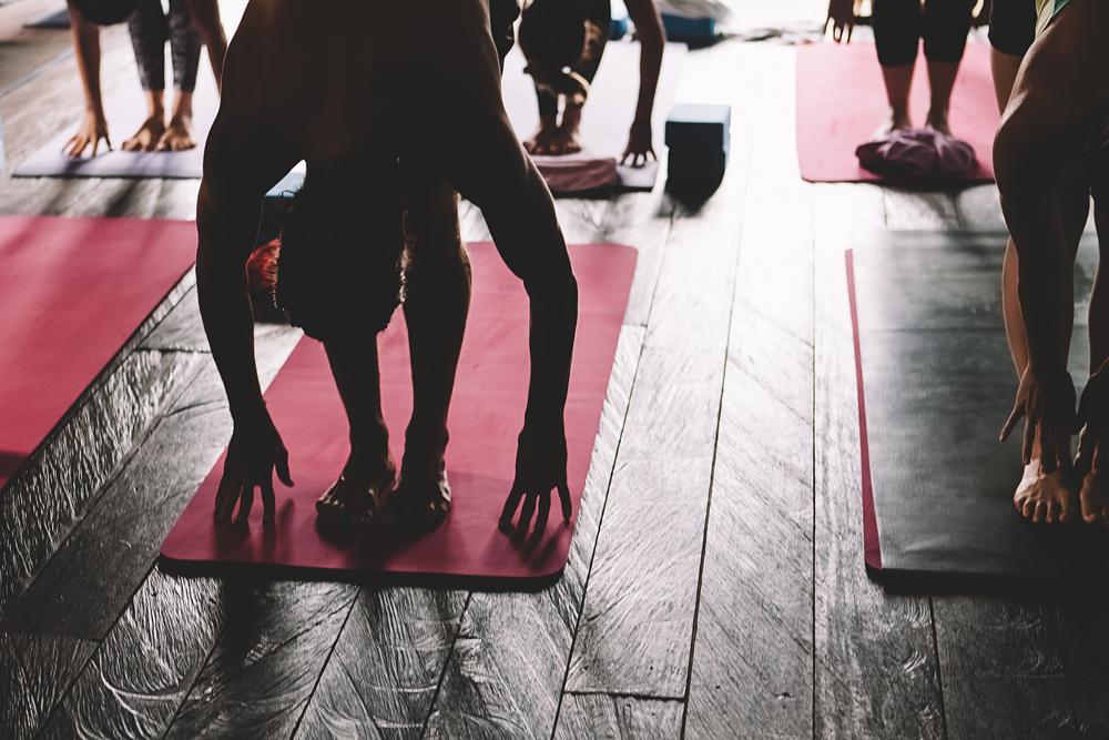 Canggu has many yoga studios offering drop-in classes
