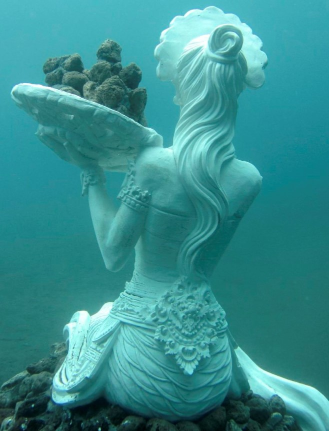 Snorkel close to the mystical underwater sculpture garden at Jemeluk Bay in Amed. 5