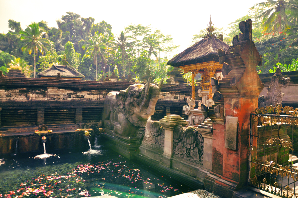 Pura Tirta Empul is one of the most famous water temples in Bali.