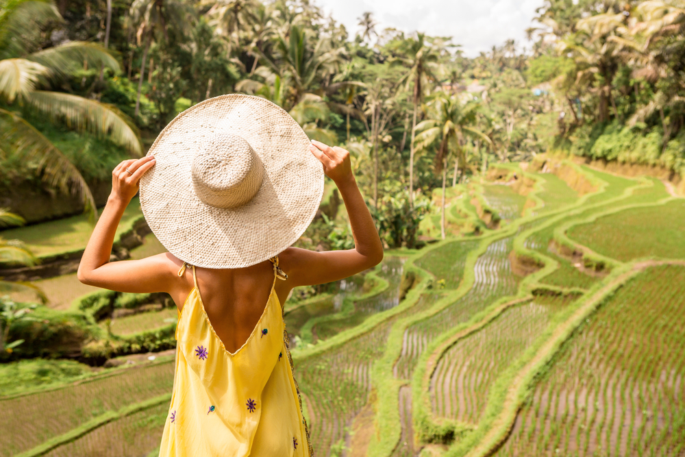Visit Ubud is September and October for the sunniest weather.