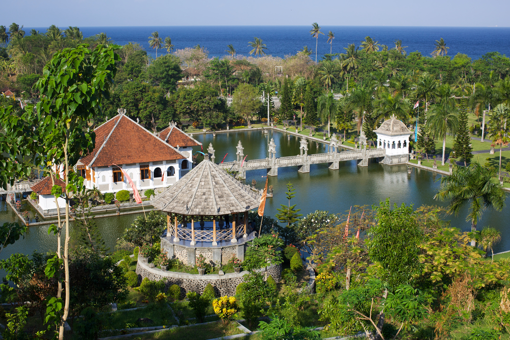 The Taman Ujung water palace near Candidasa is the perfect place for a day trip.
