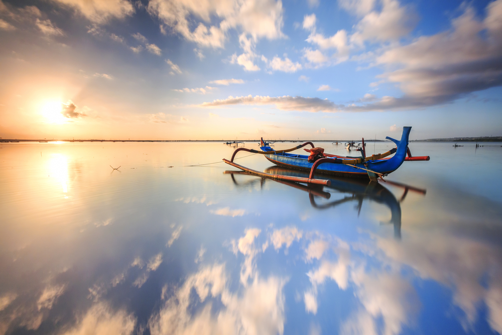 The coastal resort area of Sanur is best known for its gorgeous beaches.