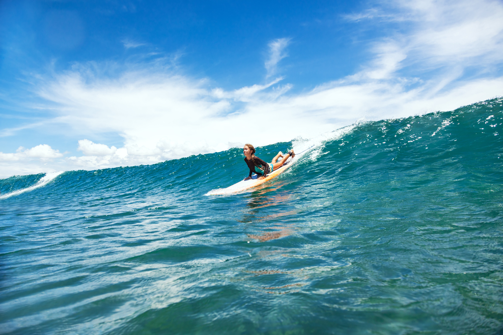 Seminyak is the perfect place to learn to surf
