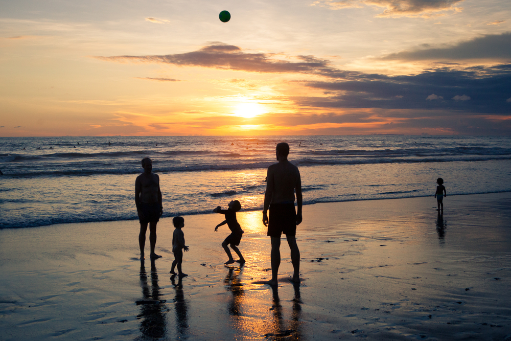 Seminyak is an ideal holiday destination for families.