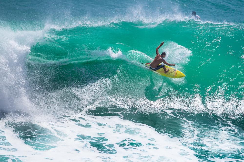 Uluwatu is a pro-surfer's paradise.