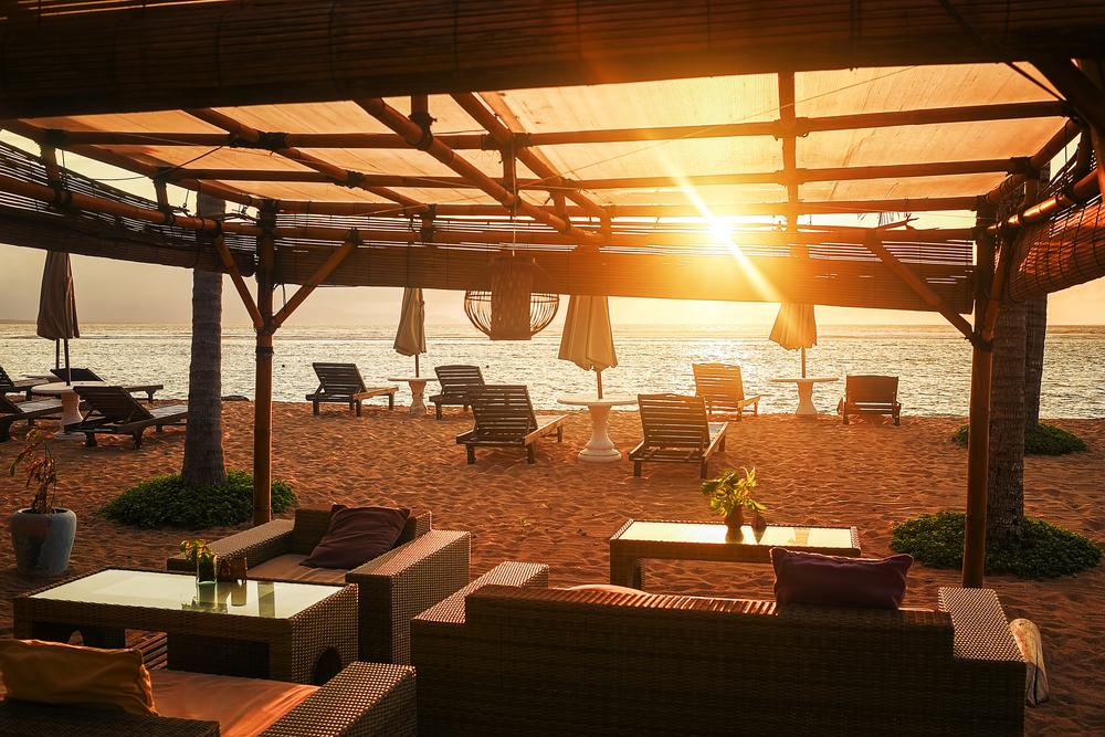 Sanur has plenty of places for a romantic sunset dinner.