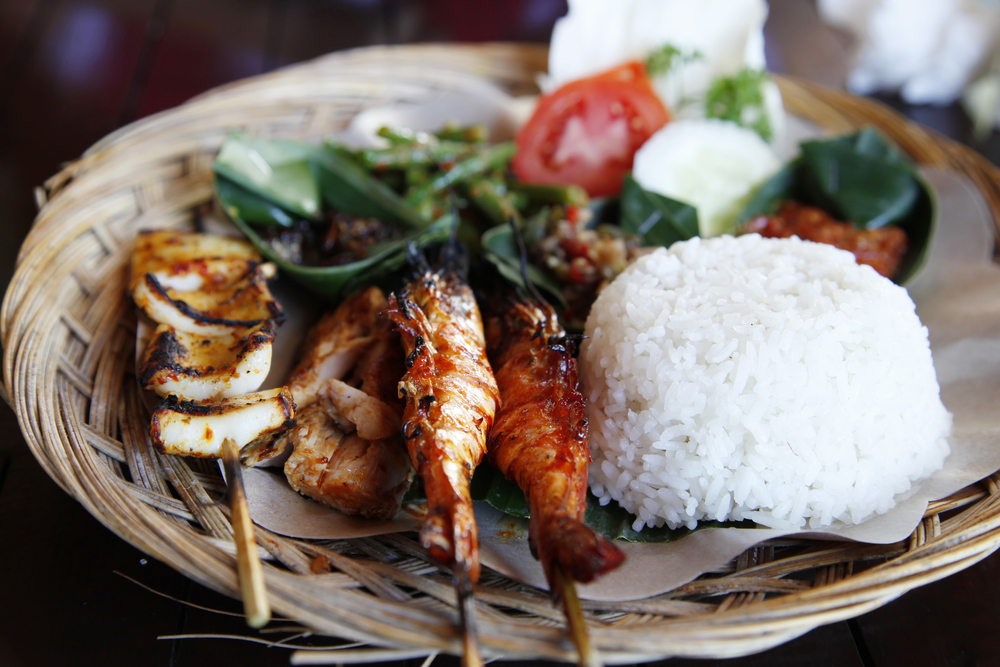 Where can you go to eat like a local in Bali?