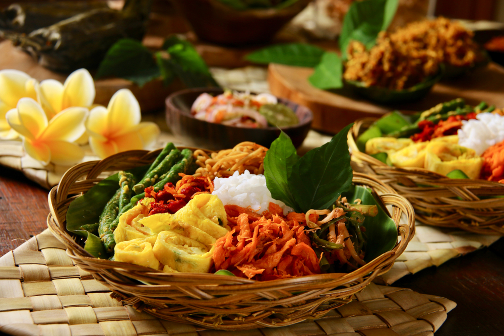 Nasi Campur is a little bit of everything