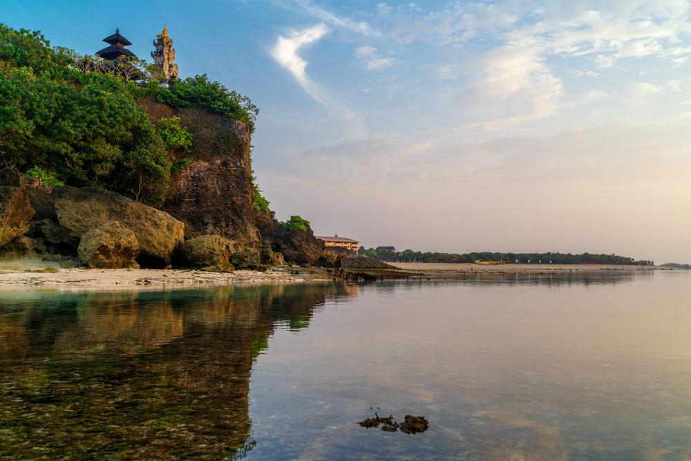 The Balian Beach is a calm remote paradise