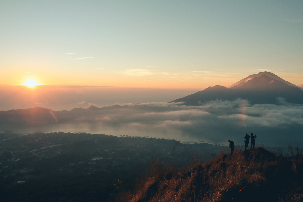 This is one of the most romantic hiking experiences in bali