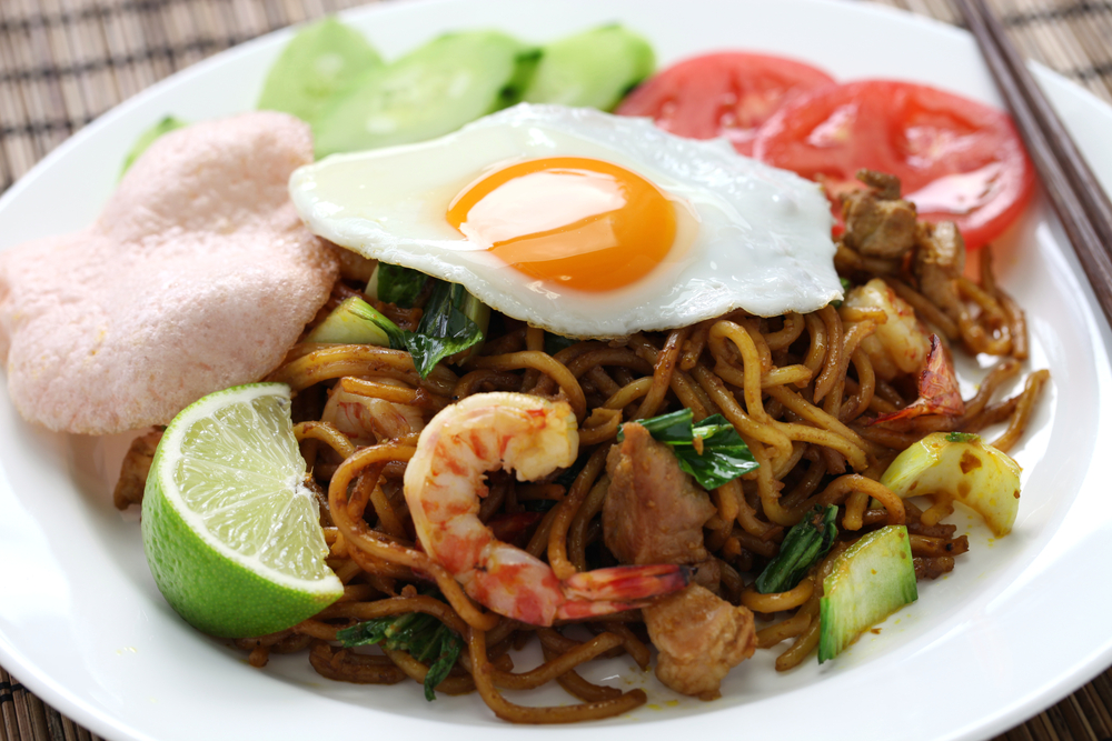 Mie Goreng (fried noodles) can be found everywhere in Bali.