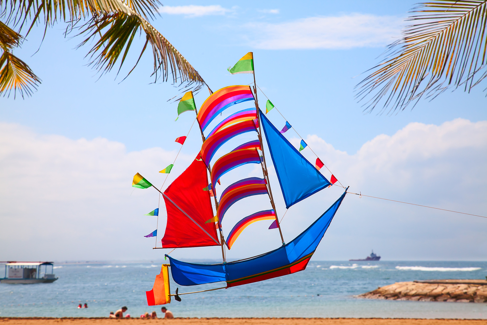 A traditional Balinese kite is the perfect souvenir of your time on the island.