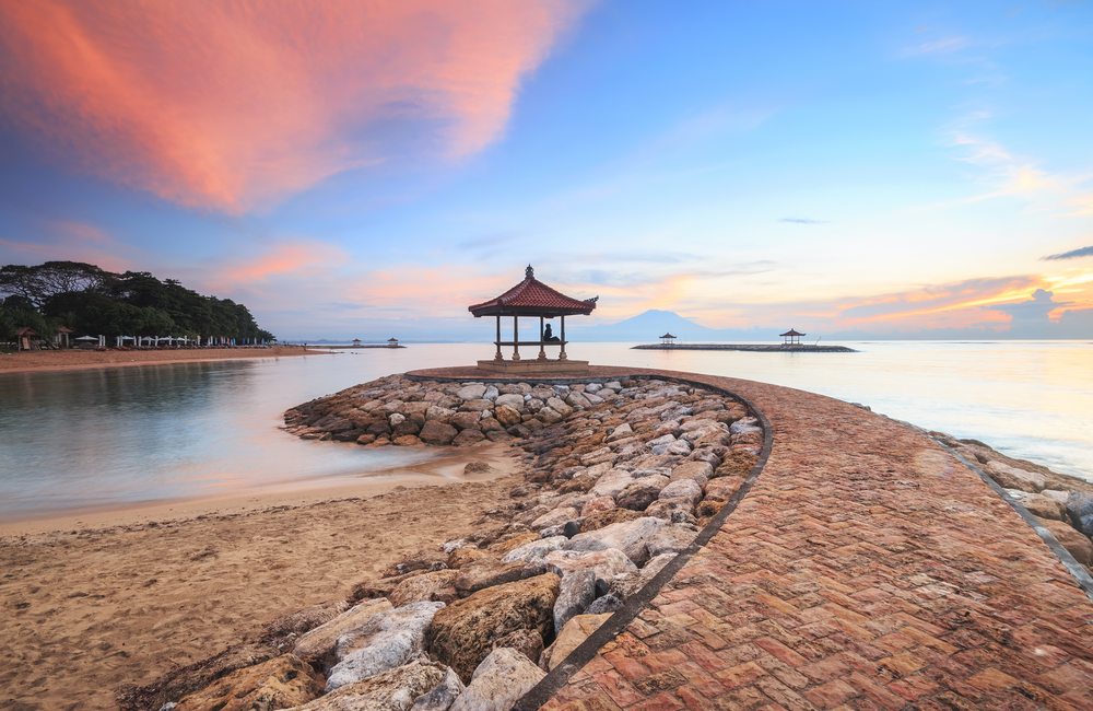 Sanur is a relaxing place for a peaceful getaway in Bali
