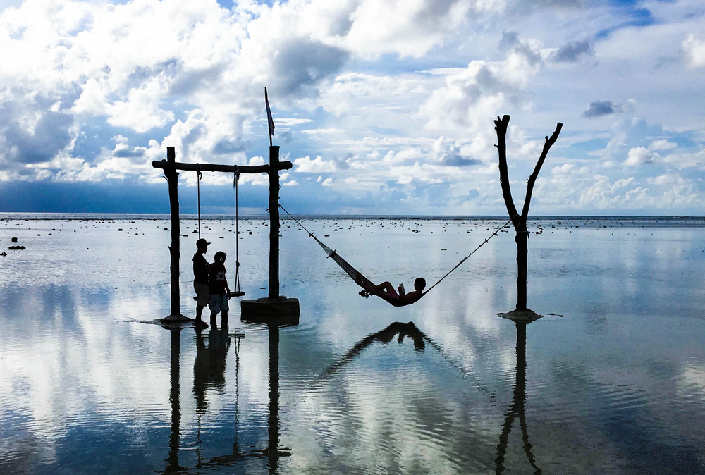 Some of the most romantic sunsets can be seen from Gili Trawangan.