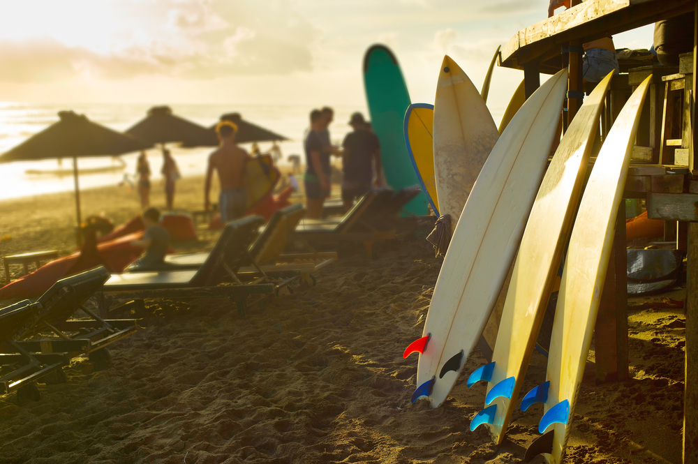Laid-back Canggu is best known for surfing