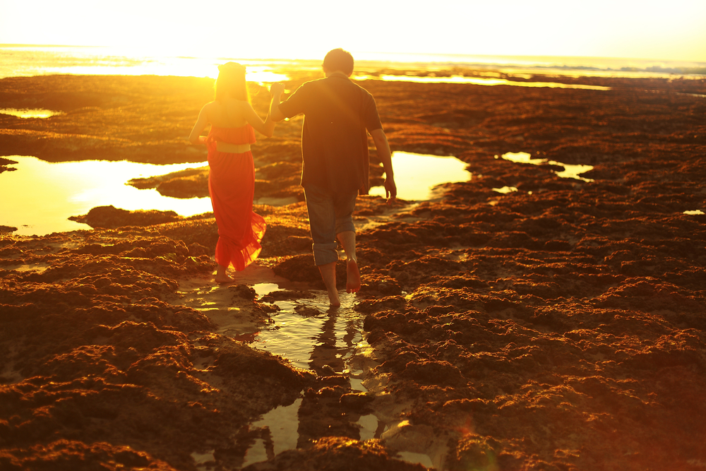 There are many romantic destinations on Bali